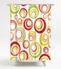 Shower Curtain Retro 180 x 180 cm