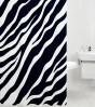 Shower Curtain Zebra 180 x 180 cm