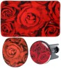 3 Piece Bathroom Set Rose