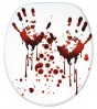 Soft Close Toilet Seat Blood Hands