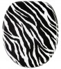Soft Close Toilet Seat Zebra