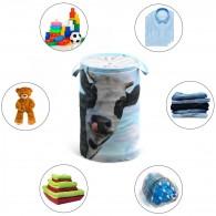Laundry Basket Cow