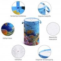 Laundry Basket Ocean