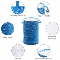 Laundry Basket Water Pearls