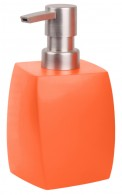 Soap Dispenser Wave Orange