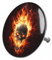 Bathtube Plug Skull