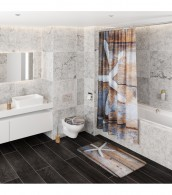 Shower Curtain Bahia 180 x 200 cm