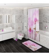 Shower Curtain Blooming 180 x 200 cm