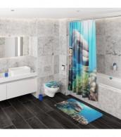 Shower Curtain Dolphins 180 x 200 cm
