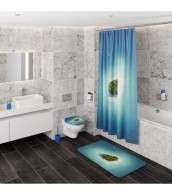 Shower Curtain Dream Island 180 x 200 cm