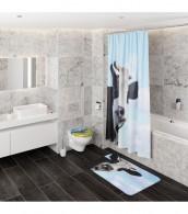 Shower Curtain Cow 180 x 200 cm