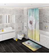 Shower Curtain Dandelion 180 x 200 cm