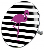 Bathtube Plug Flamingo