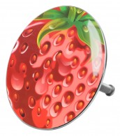 Bathtube Plug Strawberry