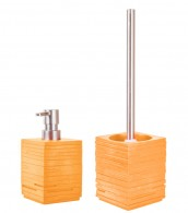 Bathroom Set Calero Orange