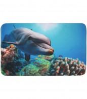 Bath Rug Dolphin 50 x 80 cm