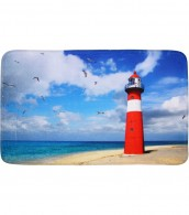 Bath Rug Lighthouse 50 x 80 cm