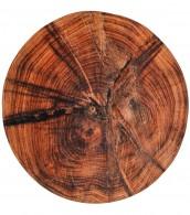 Bath Rug round Old Tree Ø 80 cm