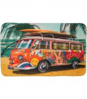 Bath Rug Summer Bus 50 x 80 cm