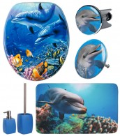 Bathroom Set Dolphin