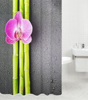 Shower Curtain Asia 180 x 180 cm