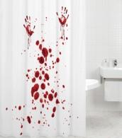 Shower Curtain Blood Hands 180 x 180 cm
