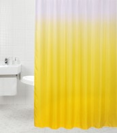 Shower Curtain Magic Yellow 180 x 180 cm