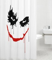Shower Curtain Joker 180 x 200 cm