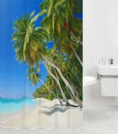 Shower Curtain Caribbean 180 x 180 cm