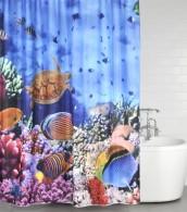 Shower Curtain Ocean 180 x 200 cm
