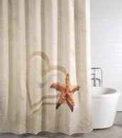 Shower Curtain Sandy 180 x 180 cm