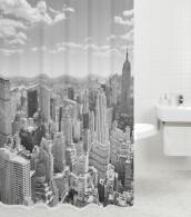 Shower Curtain Skyline New York 180 x 200 cm