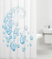 Shower Curtain Water Balls 180 x 200 cm