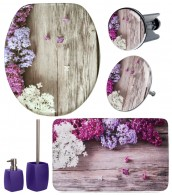 Bathroom Set Lilac