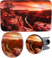 3 Piece Bathroom Set Grand Canyon