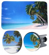 3 Piece Bathroom Set Caribbean