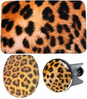 3 Piece Bathroom Set Leopard