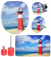 Bathroom Set Lighthouse