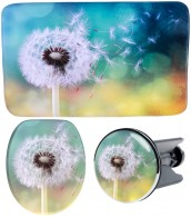 3 Piece Bathroom Set Dandelion