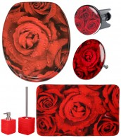 Bathroom Set Rose