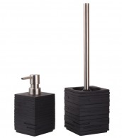 Bathroom Set Calero Black