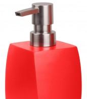 Soap Dispenser Wave Red