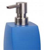 Soap Dispenser Wave Blue