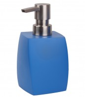 Soap Dispenser Wave Blue