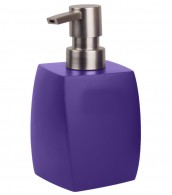 Soap Dispenser Wave Purple