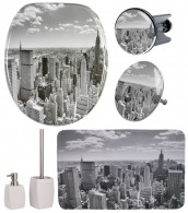 Bathroom Set Skyline New York