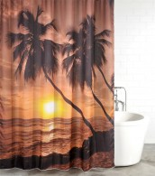 Shower Curtain Summer 180 x 180 cm