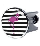Wash Basin Plug Flamingo
