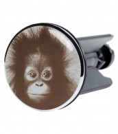 Wash Basin Plug Monkey Alfred