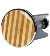 Wash Basin Plug Bamboo striped